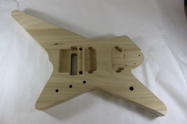 Proline V RG Necks HXX RG Jem Guitar Body Hardtail Fits Ibanez tm