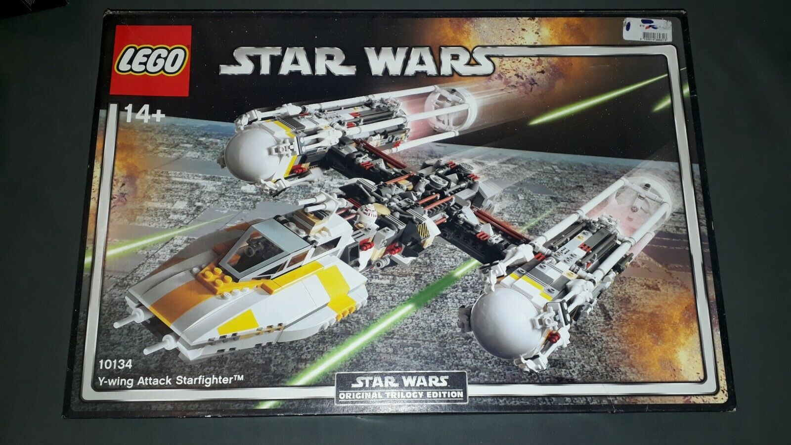 Lego 10134 UCS Star Wars Y-Wing Fighter Top Zustand