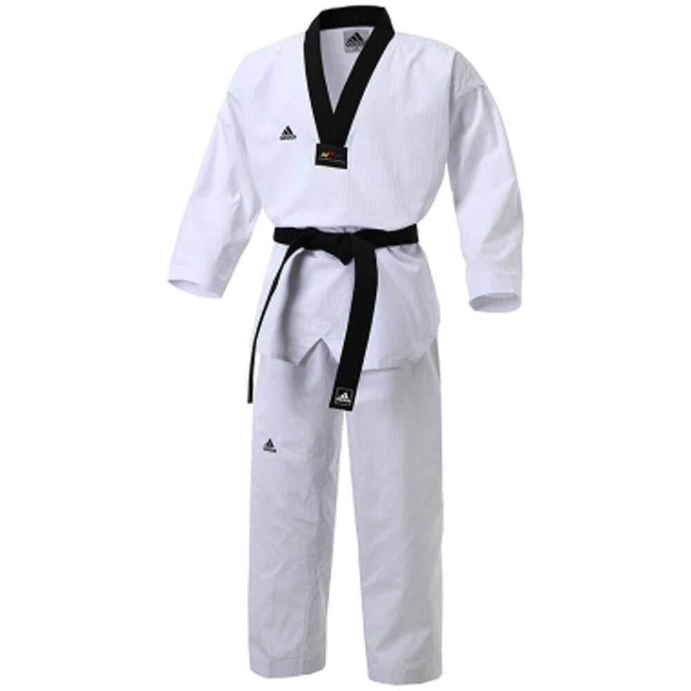 Adidas TaekwonDo TKD Champ 2 UniforSie Addidas Dan Dobok WTF genehmigt F S
