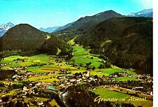 Grünau , Almtal, Ansichtskarte , 1984 gelaufen