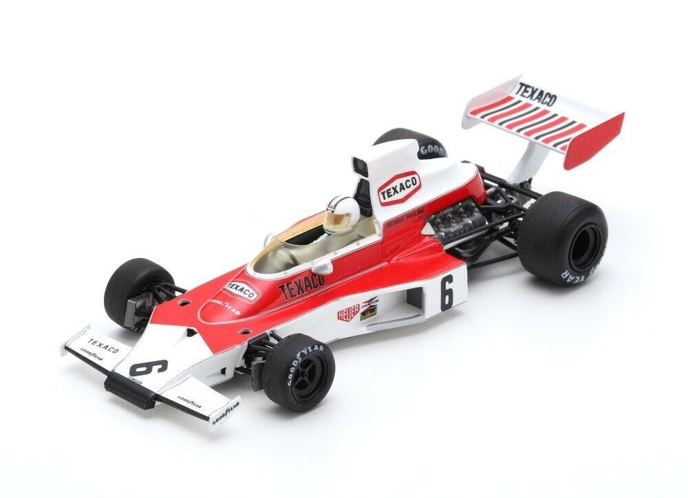 SPARK MCLAREN M23  6 Winner GP plataina 1974 Denny Hulme S7146 1 43