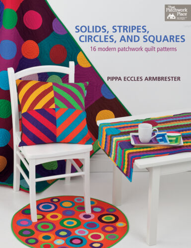 STRIPES Pattern Book ~ SOLIDS CIRCLES AND SQUARES ~ by That Patchwork Place
