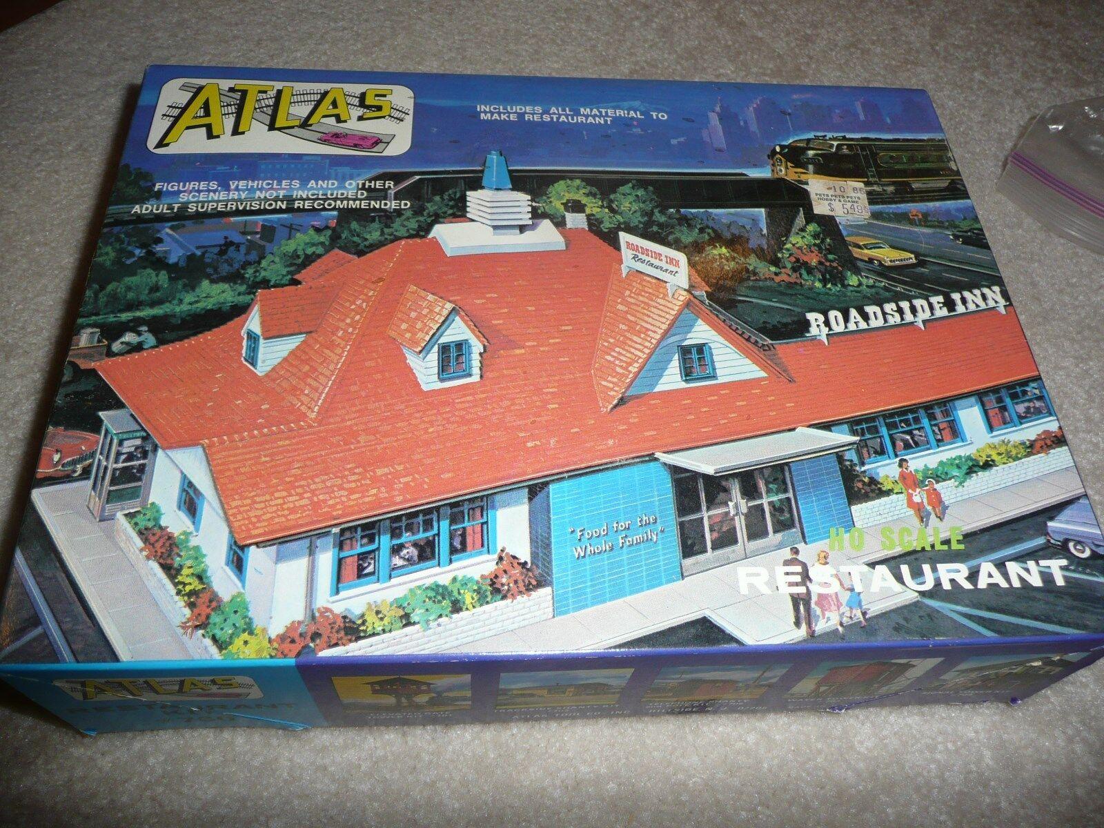 NEW 1 87 HO SCALE Atlas Restaurant  KIT - Howard Johnson - (EA-0-7004) - RARE