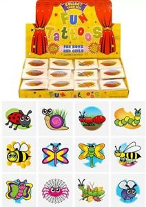 576 Insect Temporary Children's Tattoos Wholesale Lot Job Comes asstd design UK