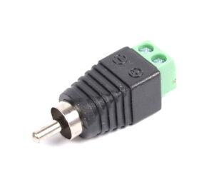 Cinch-Stecker-RCA-Adapter-Terminal-Block-Schraubanschluss-Chinch-Delock-1113