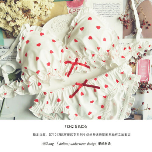 Sweet Cute Elegant Lolita Lace Cotton Panties Underwear Japanese Lady's Suit