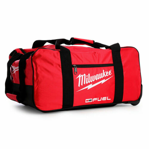"""Milwaukee M18 24/"""" Fuel Large Contractors Heavy Duty Duffel Tool Bag With Wheels"""
