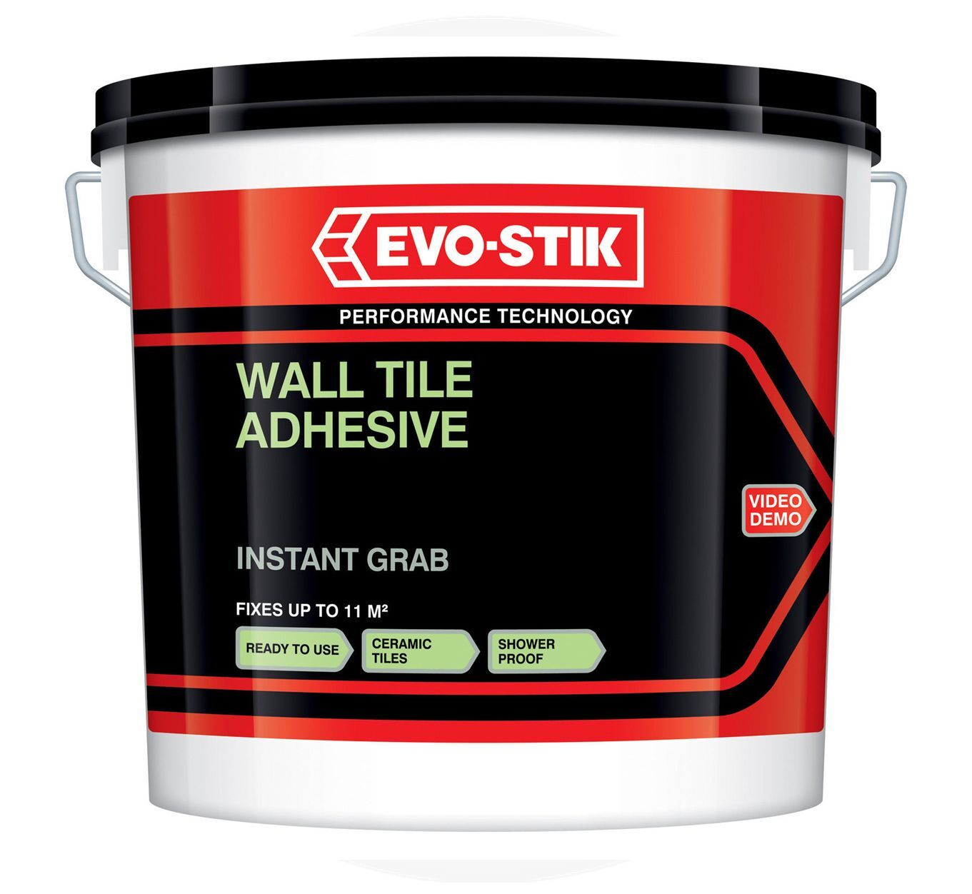 Evo Stik Instant Grab Wall Tile Adhesive Ready Mixed