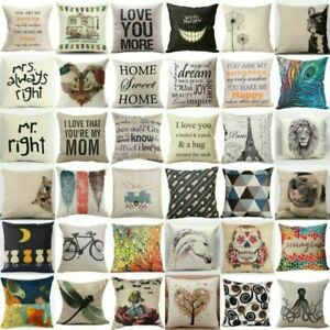 Pillow-Case-Cotton-Linen-Car-Sofa-Bed-Throw-Cushion-Cover-Home-Decoration-Waist