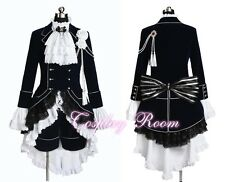 Black Butler Cosplay Ciel Phantomhive Cosplay Dark Blue Costume - Custom made
