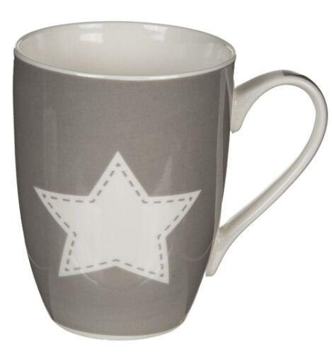 Tasse Home /& Stern Kaffeetasse Kaffeebecher Teetasse Landhausstil 2 Farben