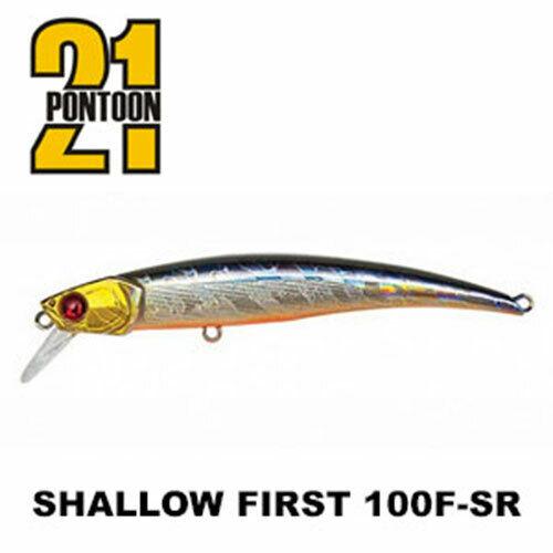 PONTOON21 Shallow First 100F-SR