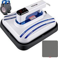 Heat Press Machine 10 X 10 Easy Press Blue Portable Press For Diy T Shirts