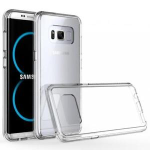 SAMSUNG GALAXY S8 (5.8) SCRATCH RESISTANT CASE DROP-PROOF CLEAR SLIM FIT COVER