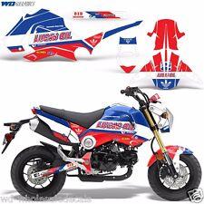 Graphic Kit Honda GROM 125 Dirt Bike w/Rim Decals Stickers Wrap w/Backrounds LO