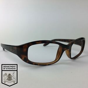ba4f142e9c Image is loading RAY-BAN-eyeglasses-TORTOISE-OVAL-glasses-frame-MOD-