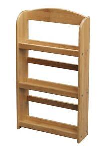 3 niveaux bambou en bois Spice Herb Stockage Rack Jar Support Stand Étagère  </span>