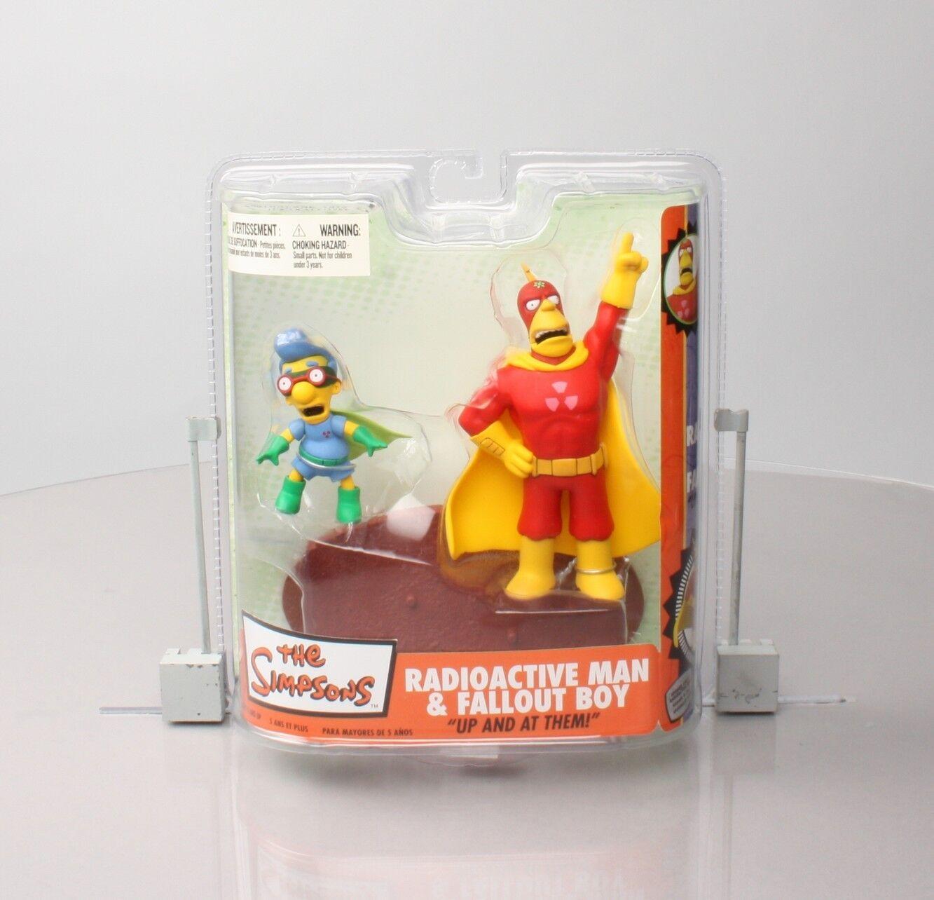 Simpsons Series 2 - Radioactive Man & Fallout Boy