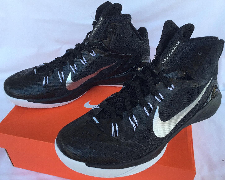 new Nike Hyperdunk TB 2014 Black 653484-001 Basketball Shoes Women's 13.5 NCAA
