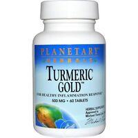 Planetary Herbals, Turmeric Gold, 500 Mg, 60 Tablets
