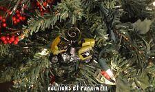 BMW Military Police Motorcycle Custom Christmas Ornament 1/64 Honda Harley