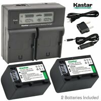 Np-fv70 Battery& Fast Charger For Sony Dcr-sx45 Sx63 Sx65 Sx83 Sx83,fdr-ax100