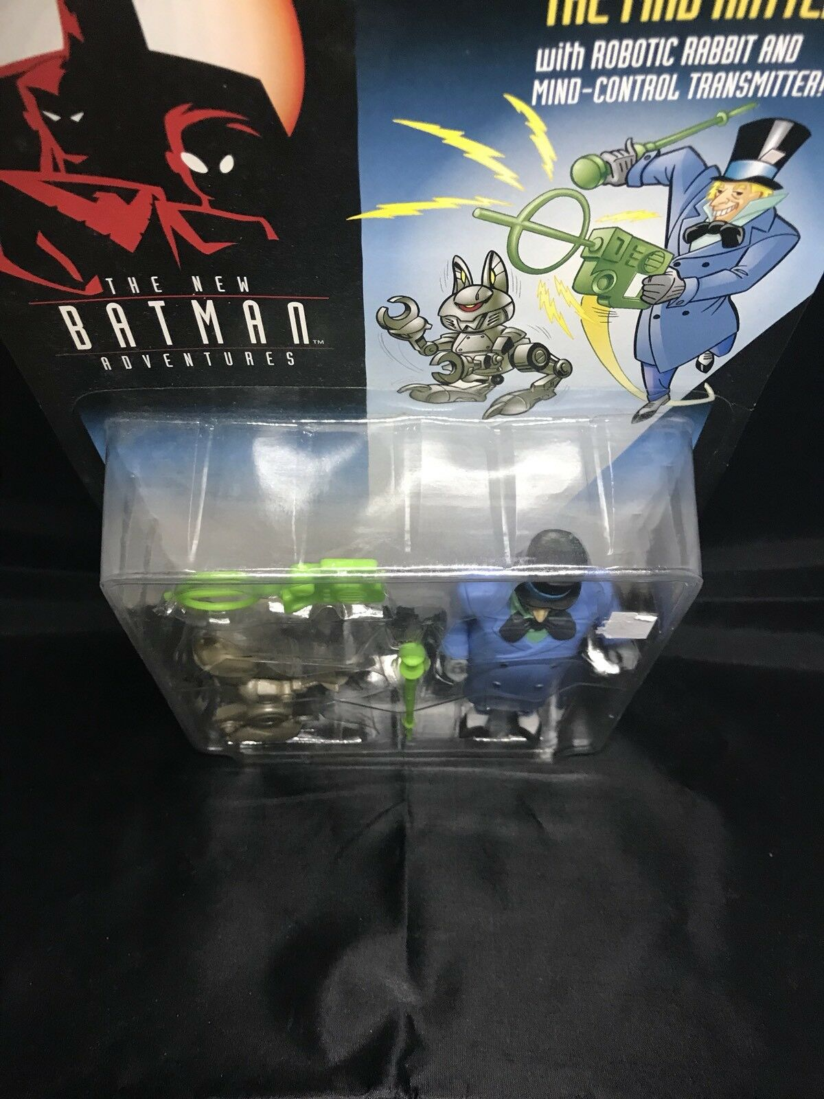 The New Batman Adventures Mad Mad Mad Hatter Kenner NIP 4+ 1980-2001 S136-12 575563