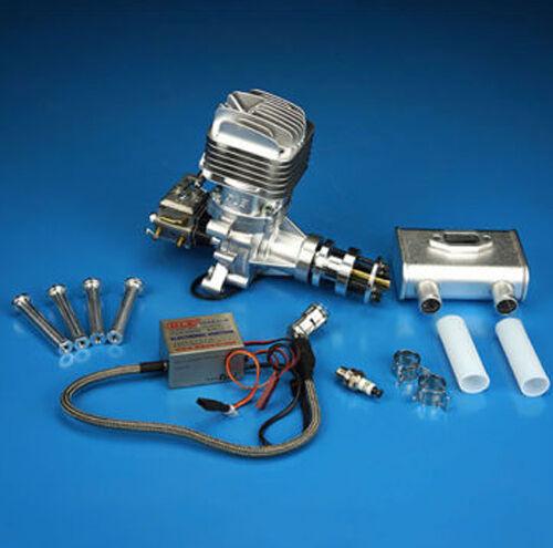 Nuevo motor de gasolina DLE DLE35RA Escape Trasero 35CC para radio control Avión
