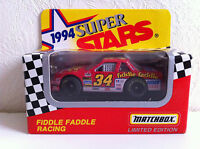 Matchbox Super Stars Voiture Racing Nascar N° 34 Fiddle Faddle (ltd Ed. - 1/64)