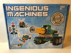 Ingenious Machines DIY Build Robotic Kit Machines Remote Control Building Set
