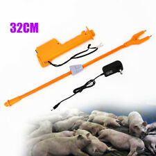 Delaman Handheld Electric Livestock Prod Animal Control Shock Moving Tool for Cattle Goat Pig Sheep Prods