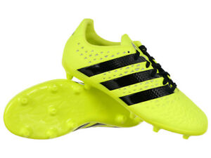 Kids adidas ACE 16.3 FG Junior Firm Ground Football Boots Moulded ... 70d432dfc