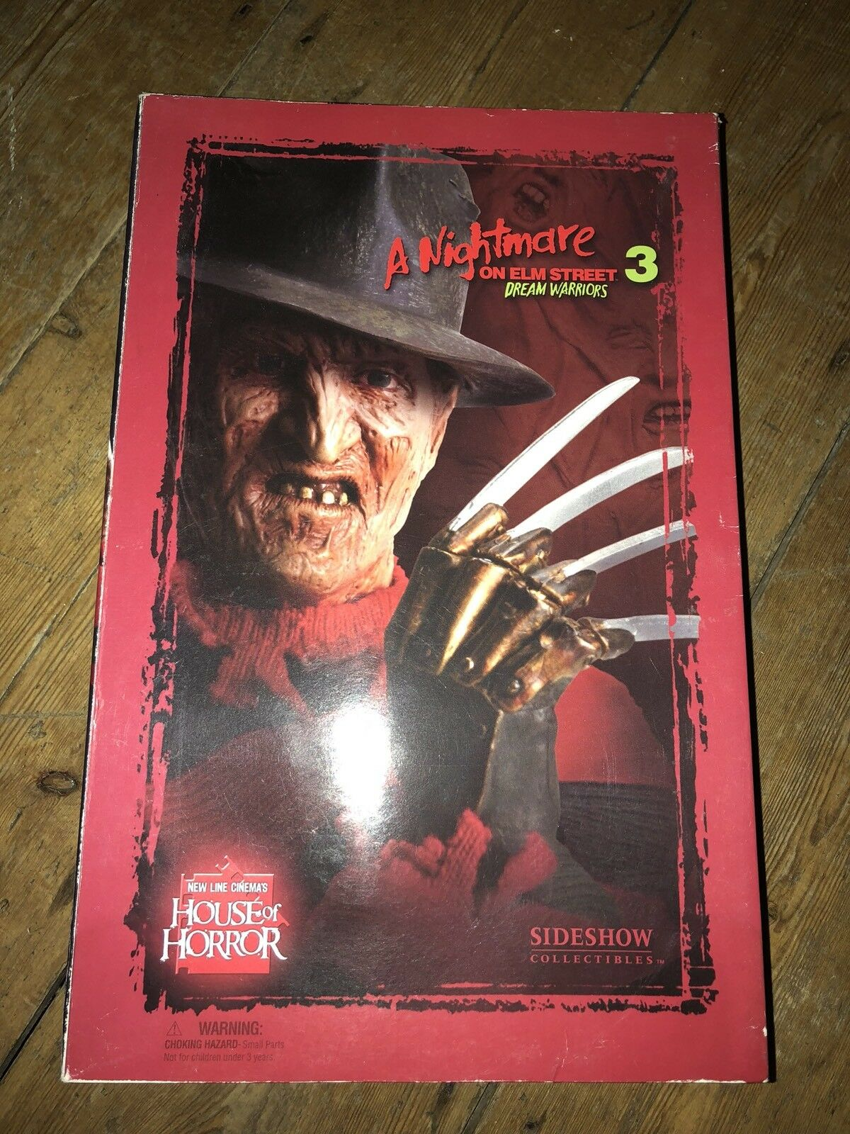 Sideshow Nightmare on Elm Street 3  Freddy Krueger  EXCLUSIVE  AF SSC 217