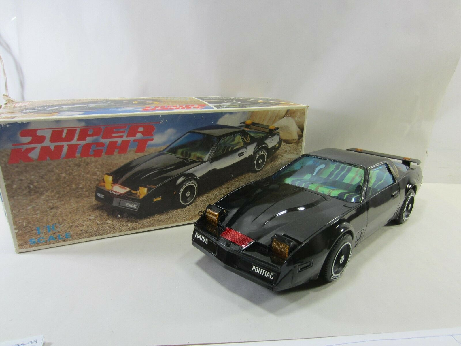 1984 Hong Da Super Knight 1 10 Scale Battery Oper. Car  PA 2