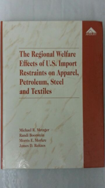 The Regional Welfare Effects of U.S. Import Restraints on Apparel, Petroleum, St