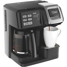 Hamilton Beach FlexBrew 2-Way Coffee Maker, Full-Pot or Single Serve, 49957
