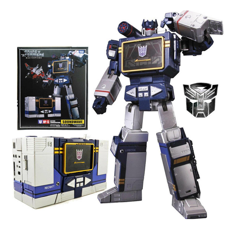 Transformers  Masterpiece mp-13 mp13 Soundwave Autobots Action Figure Noël  en ligne au meilleur prix