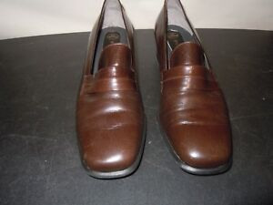 new product 41624 f5043 Details about Peter Kaiser Cafe Gala Akadi Women's Shoes Dark Brown 6.5M  Made in Germany
