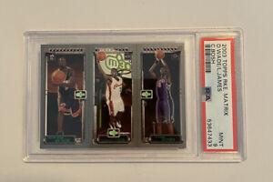 2003-04 Topps Rookie Matrix LeBron James / C. Bosh / Dwayne Wade PSA 9 MINT #WJB