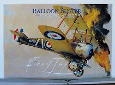 Balloon Buster 208 Squadron Sopwith Camel Robert Taylor Aviation Art Brochure
