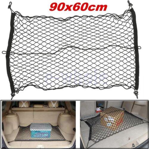 Auto Kofferraum Elastische Netz Organizer Mesh Abdecknetz Gepäcknetz 90x60cm ED
