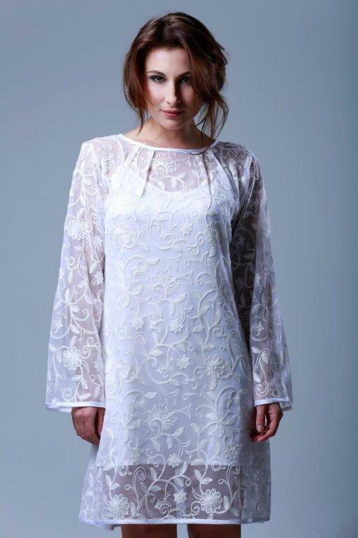GATTINA - FRESH Nachthemd white Wäschegröße XS Polyamid 601743