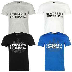 Puma-Camiseta-Hombre-Newcastle-Logo-Manga-Corta-Nufc-S-M-L-XL-2XL