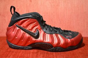 more photos b0e1b 87744 Details about WORN TWICE Nike Air Foamposite Pro University Red Black  624041-604 Size 13
