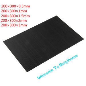 100-Real-Carbon-Fiber-plate-panel-sheet-3K-plain-weave-FA