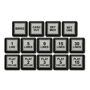 IGT Button Set for IGT I Game Plus New BS-004