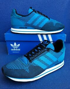 Details about 2014 adidas ZX 500 OG weave solar blue trainers uk size 7.5