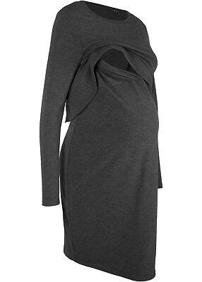 Damen Kleid Größe 48 50 52 54 Xl 2XL langarm mit ...