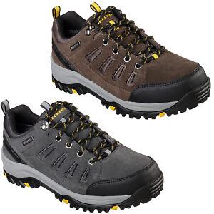 Shoes Skechers Mens Trainers Sonego 65673 Memory Fit Relment Trail Foam Khaki Relaxed q4Cq6p
