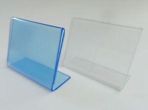 20-DIN-A8-AUFSTELLER-NEU-PLEXI-GLAS-PREISSCHILD-L-STANDER-LSTANDER-PREISSCHILDER